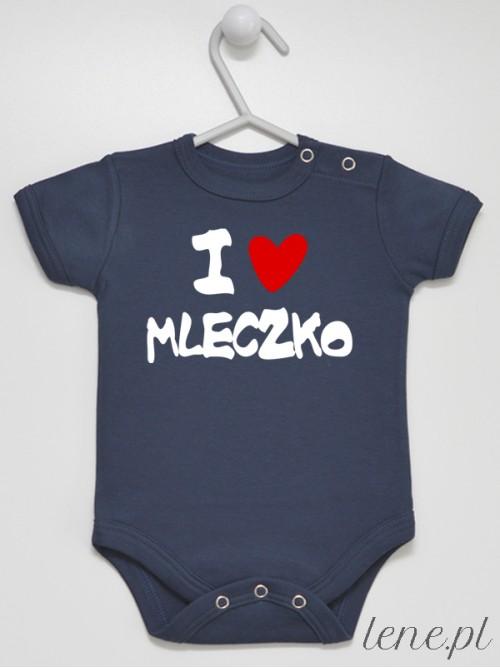 Body niemowlęce I Love Mleczko 02