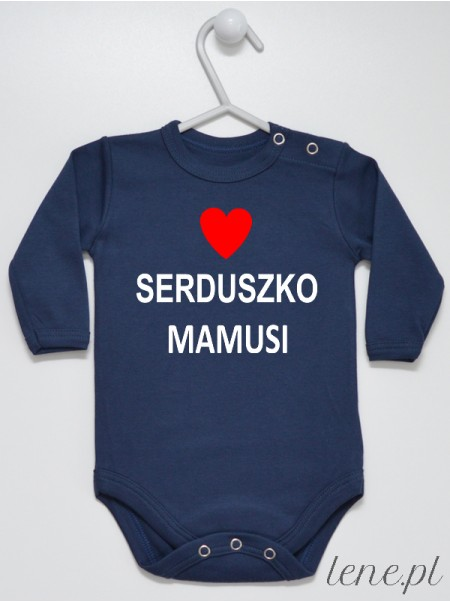 Serduszko Mamusi - body niemowlęce