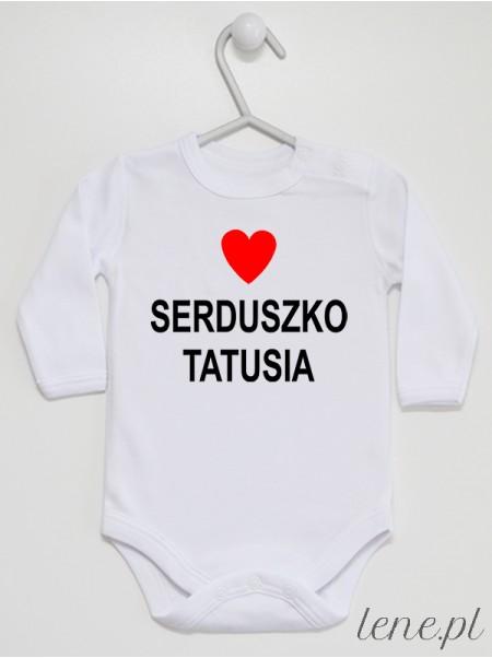 Nadruk Serduszko Tatusia - body dla niemowlaka, noworodka