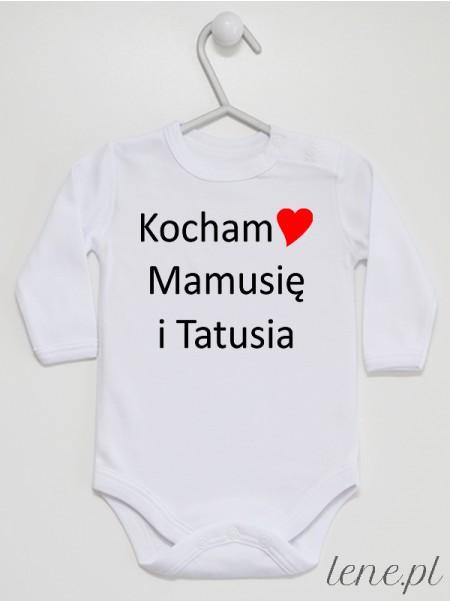 Kocham Mamusię I Tatusia 03 - body niemowlęce
