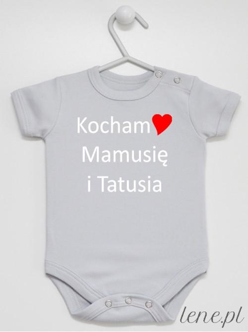 Body niemowlęce Kocham Mamusię I Tatusia 03