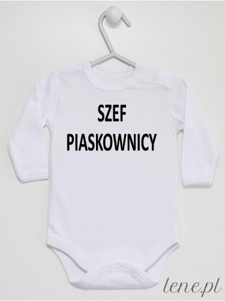 Szef Piaskownicy - body niemowlęce