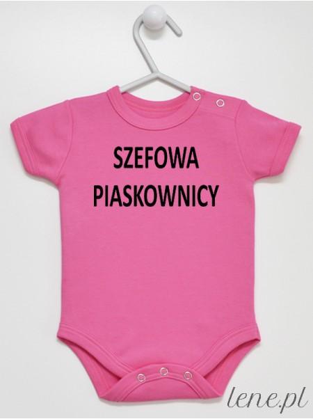 Szefowa Piaskownicy - body niemowlęce