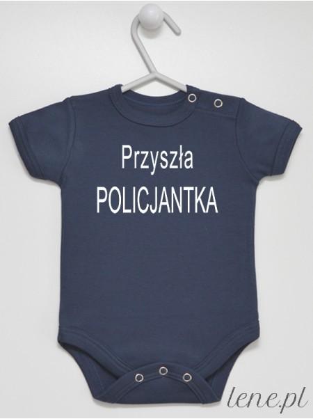 Przyszła Policjantka - body niemowlęce