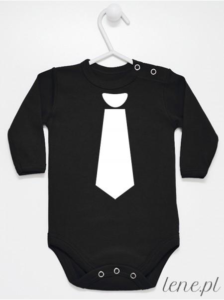 Z Krawatem Białym - body niemowlęce