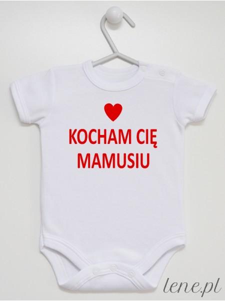 Kocham Cię Mamusiu 02 - body niemowlęce