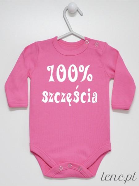 100% Szczęścia 01 - body niemowlęce