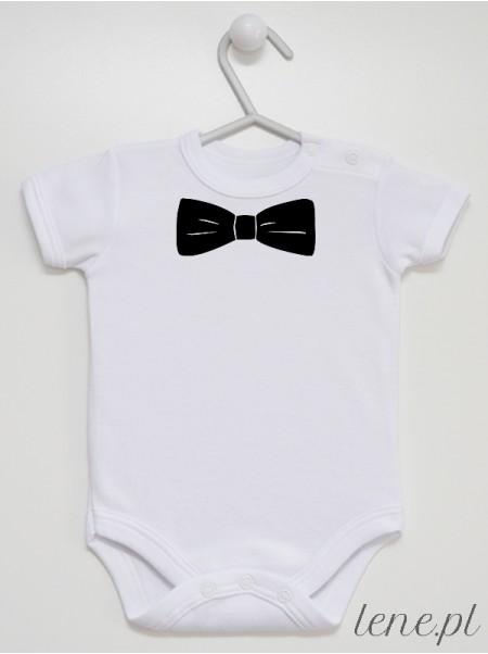 Muszka Czarna 01 - body niemowlęce