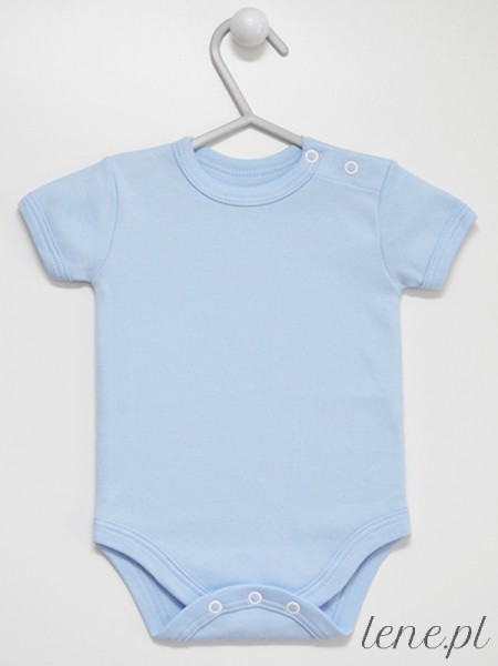 Błękitne Krótki Rękaw - body niemowlęce