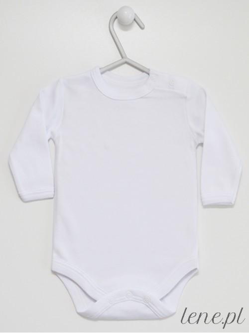Body niemowlęce Białe Długi Rękaw