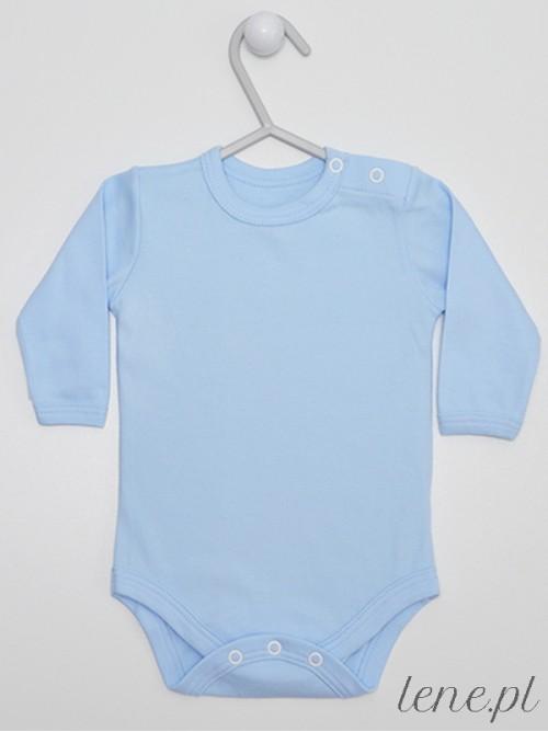Body niemowlęce Błękitne Długi Rękaw