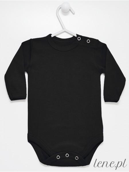 Czarne Długi Rękaw - body niemowlęce