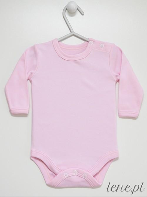 Body niemowlęce Różowe Długi Rękaw