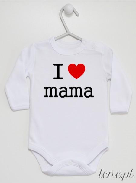 I Love Mama - body niemowlęce