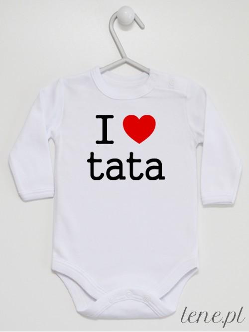 Body niemowlęce I Love Tata