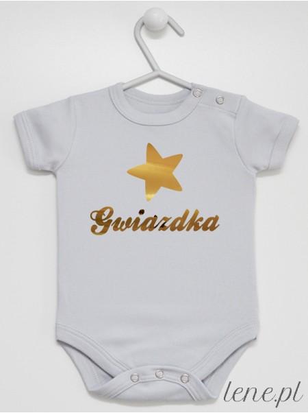 Gwiazdka Złota 02 - body niemowlęce