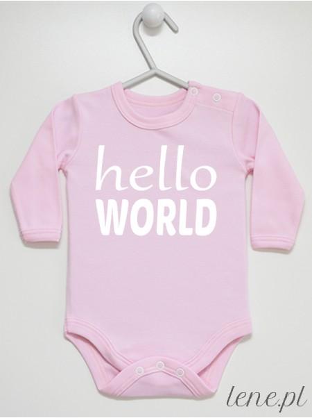 Hello World - body niemowlęce