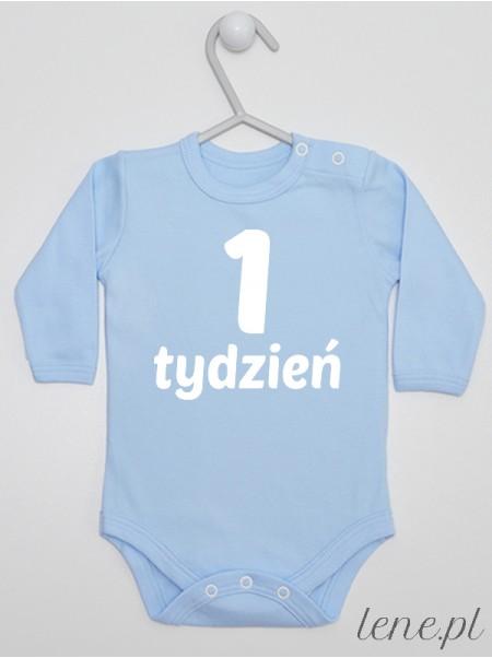 Tydzień 1 - body niemowlęce