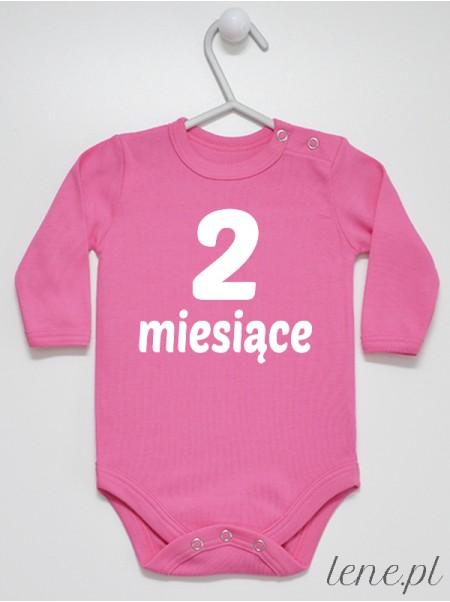Miesiąc 2 - body niemowlęce