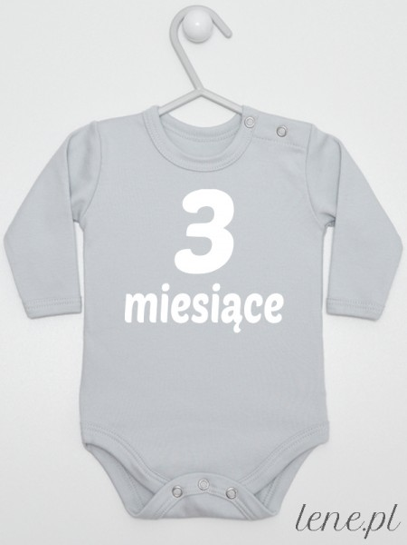 Miesiąc 3 - body niemowlęce