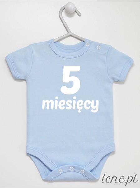 Miesiąc 5 - body niemowlęce