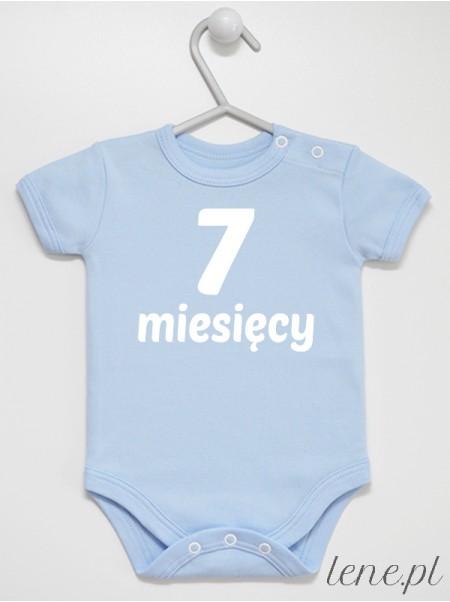 Miesiąc 7 - body niemowlęce