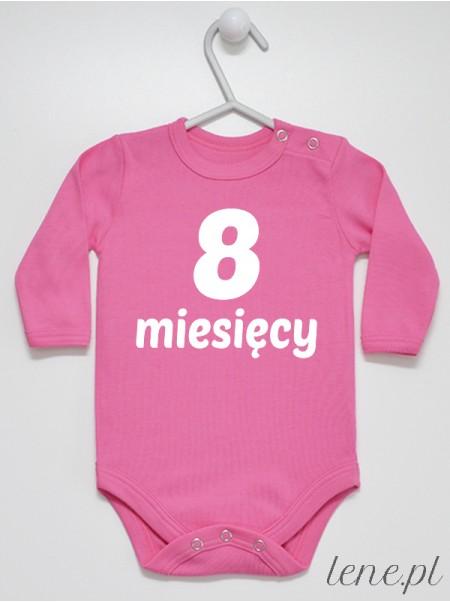 Miesiąc 8 - body niemowlęce