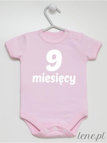Miesiąc 9 - body niemowlęce