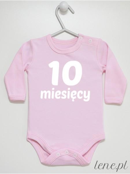 Miesiąc 10 - body niemowlęce