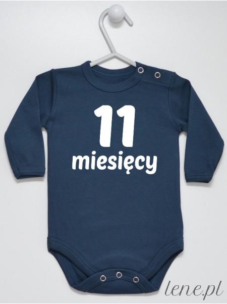 Miesiąc 11 - body niemowlęce