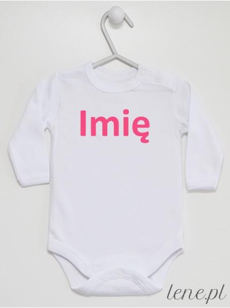 Z Imieniem 01 - body niemowlęce