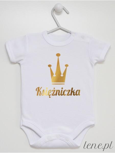 Księżniczka 01 - body niemowlęce