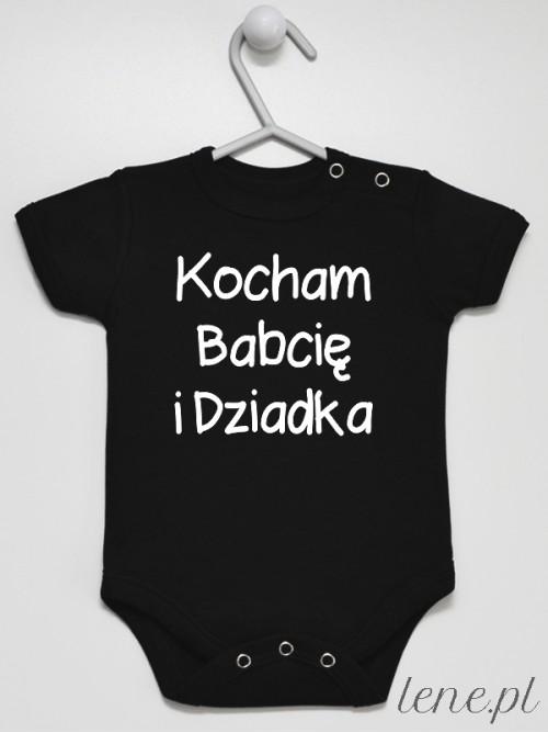 Body niemowlęce Kocham Babcię I Dziadka 02