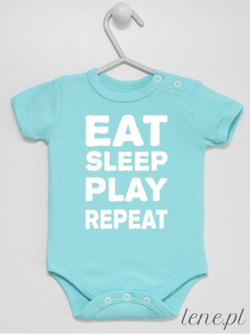 Body niemowlęce Eat Sleep Play Repeat