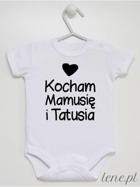 Kocham Mamusię I Tatusia 04 - body niemowlęce