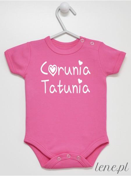 Córunia Tatunia - body niemowlęce