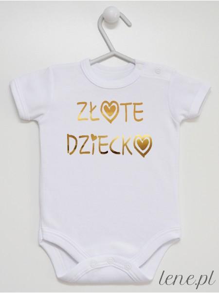Złote Dziecko - body niemowlęce