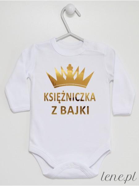 Księżniczka Z Bajki - body niemowlęce