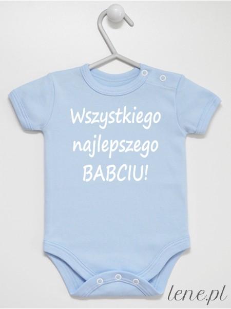 Wszystkiego Najlepszego Babciu - body niemowlęce