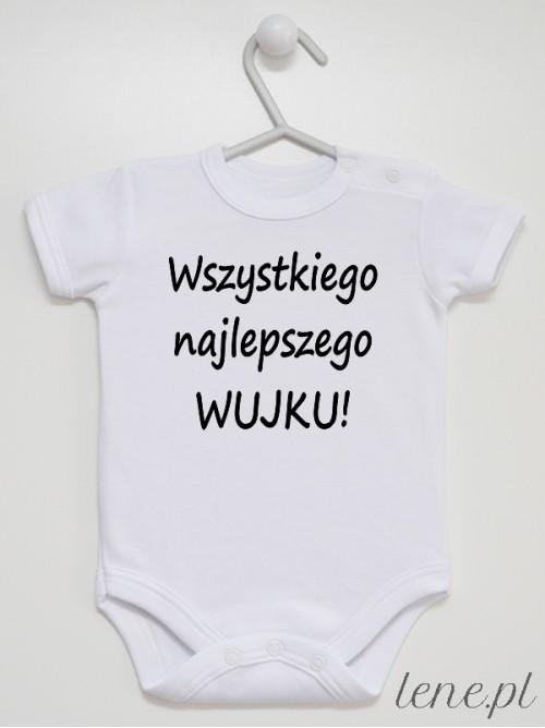 Body niemowlęce Dla Wujka Życzenia