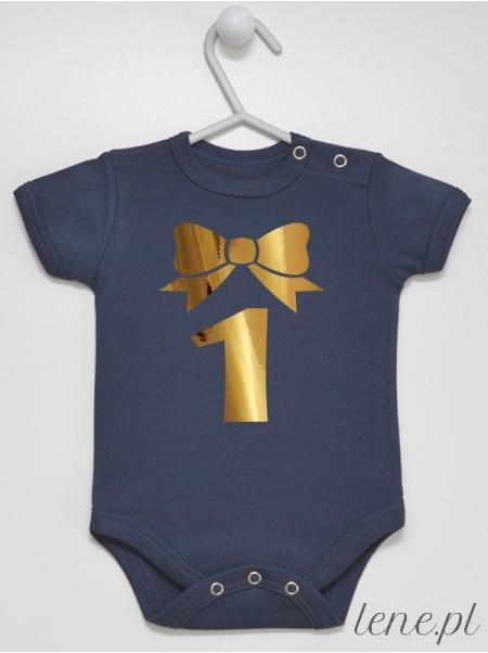 Jedynka Z Kokardką 01 - body niemowlęce