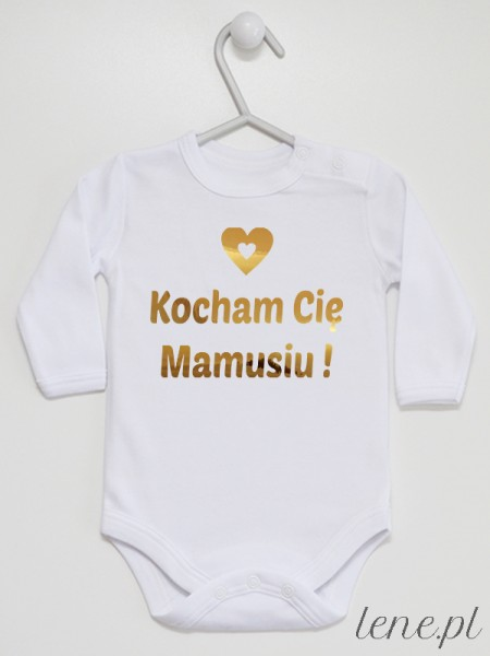 Kocham Cię Mamusiu! 03 - body niemowlęce