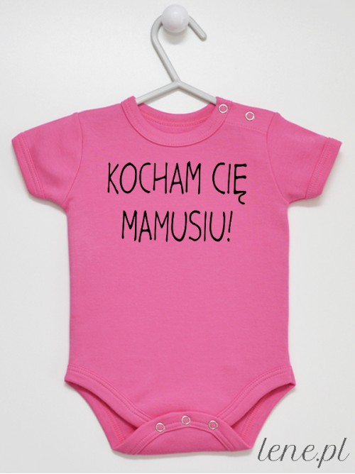 Body niemowlęce Kocham Cię Mamusiu! 04