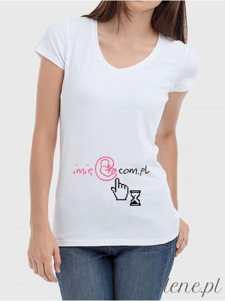 Bluzka damska Mail Baby + Imię 01