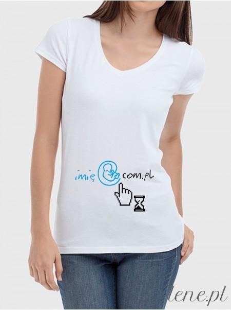 Bluzka damska Mail Baby + Imię 02