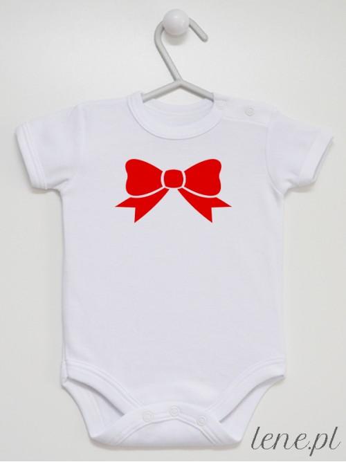Body niemowlęce Kokardka Czerwona 01