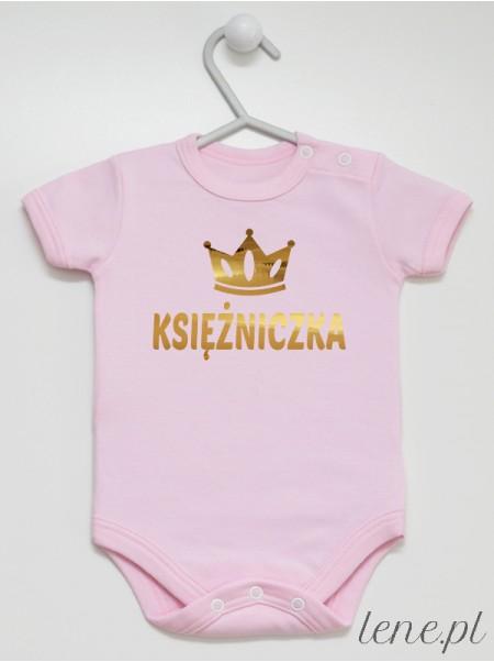 Księżniczka 04 - body niemowlęce