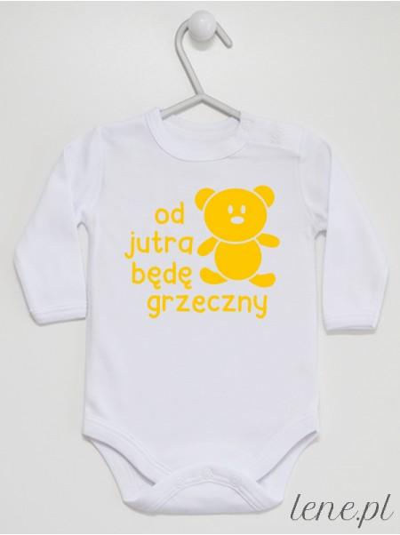 Od Jutra Będę Grzeczny 01 - body niemowlęce