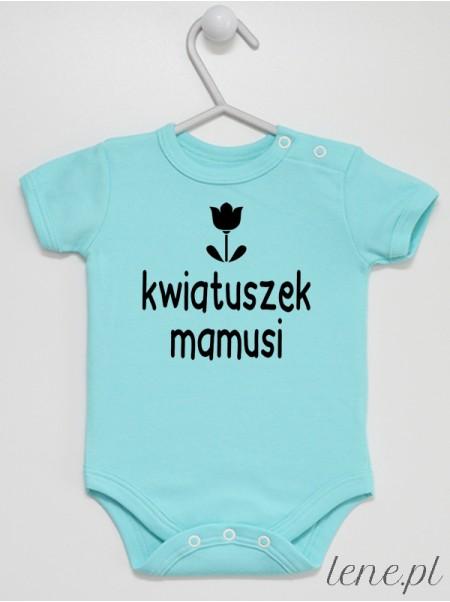 Kwiatuszek Mamusi - body niemowlęce