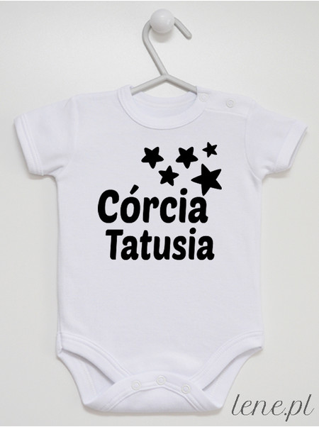 Córcia Tatusia 02 - body niemowlęce